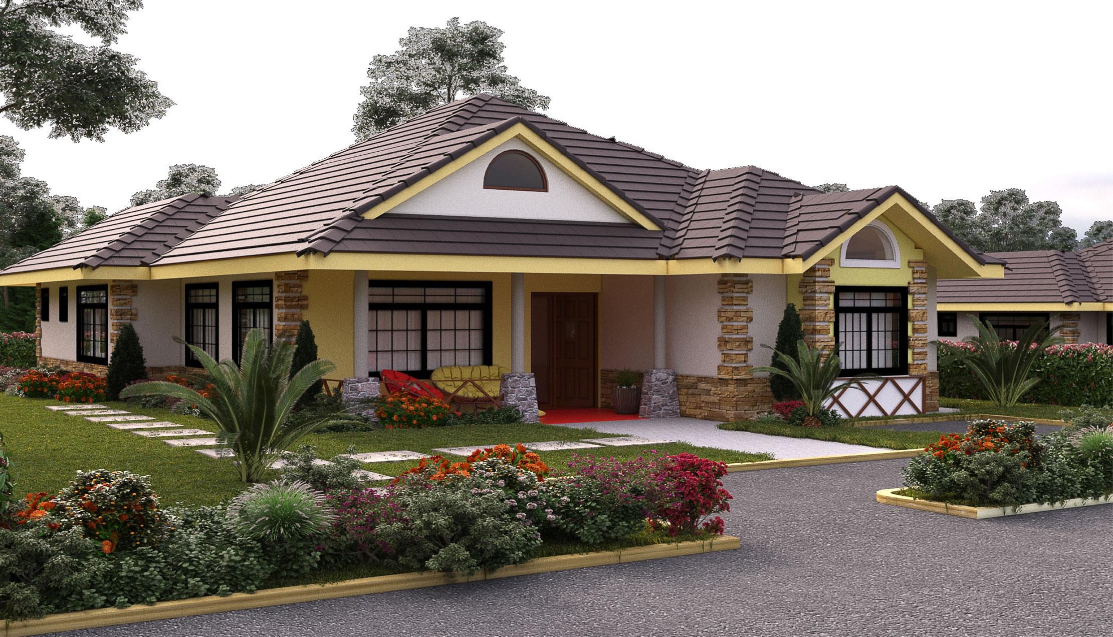 5 Bedroom Bungalow House Plans In Kenya | www.resnooze.com